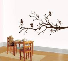 on wall art stickers tree with wall art vinyl decal sticker tree fairies and ellystudio