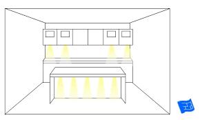 kitchen task lighting ideas. kitchen lighting ideas under cabinet counter top spot task i
