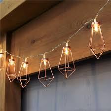 decorative string lighting. 10led20led decorative diamond led string lights rose gold fairy light for christmas party lighting t