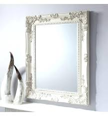 wall mirrors vintage style mirror baroque shabby chic antique white frames large medium size of