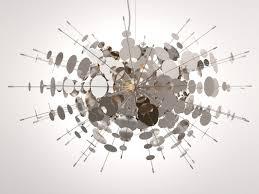 confetti chandelier 3d model