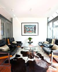 natural hide rug spectacular cowhide rug decorating ideas for living room design ideas with spectacular brick brick floor natural cowhide rug