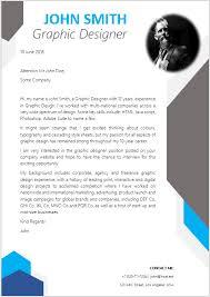 cover letter designs graphic designer cover letter