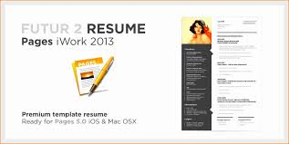 Apple Pages Resume Templates Sarahepps Com