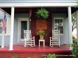 Aesthetically pleasing outdoor wall art on porch