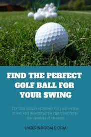 How To Choose The Right Golf Ball For My Game 4 Factors To