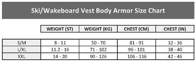 Ski Wakeboard Vest Body Armor