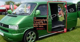 vw transporter t4 mk4 sliding door rubber seal 1990 2004 5m 1 of 2free see more