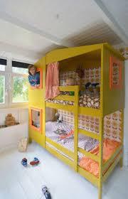 Kids loft bed ikea Svarta Yellow Mydal House Ikea Beds Ikea Bunk Bed Hack Ikea Hack Kids Bedroom Pinterest Yellow Mydal House Kids Room Kid Beds Kids Bunk Beds Ikea Bunk Bed