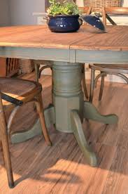 Kitchen Table Refinishing 17 Best Ideas About Refinished Table On Pinterest Refurbished
