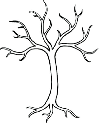 Small Picture winter tree coloring pages printable bare tree without leaves