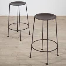 Zinc Finish Furniture Set Of 2 Iron Zinc Finish Counter Stools India Counter Stool