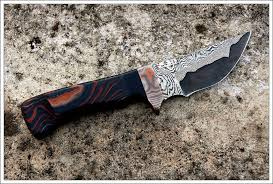 2 carbon/stainless san mai knives (utility and skinner) - The Knife Network  Forums : Knife Making Discussions