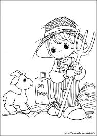 Christmas Coloring Pages Precious Moments At Getdrawingscom Free
