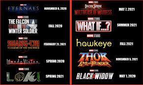 Menunggu menstruasi bulan berikutnya 5. Marvel Umumkan Rilis 4 Film Pada 2023