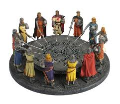 king arthur and the knights of the round table statue sculpture figure