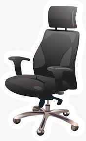 office chair materials. Fashion Office Chair, Furniture Materials, Chair PNG And Vector Materials 7