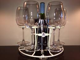 get ations wine glass wine bottle holder suction cup base use on boats rvs