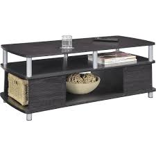 Coffee Tables With Basket Storage Carson Coffee Table Multiple Finishes Walmartcom