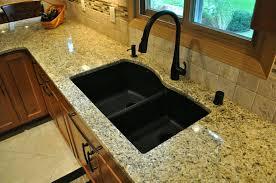 sinks black granite sink reviews black granite sink cleaner