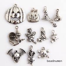 11pcs zinc alloy mix jewelry making pendant findings 24c