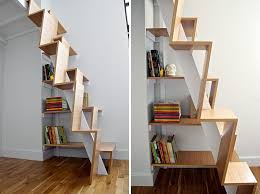 how to design small spaces. Wonderful How 13 Stair Design Ideas For Small Spaces  The Treads On These Stairs  Alternate Heights With How To O