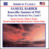 barber knoxville summer of essays for orchestra nos  barber knoxville summer of 1915 essays for orchestra nos 2 and 3