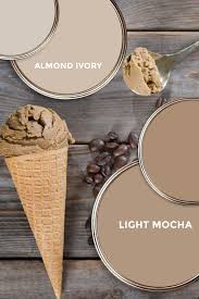 Mocha Light Color What Paint Colors Are The Best Fit For Almond Ivory And