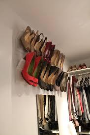 image of hanging closet shoe organizer