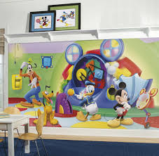mickey mouse clubhouse capers xl mural 10 5 x 6