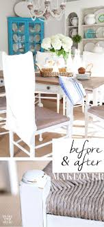 rooms with painted furniture. Dining Room Furniture Makeover On A Very Small Budget. See How To Transform Hand-me-downs And Flea Market Finds Pieces That Are Just Your Style. Rooms With Painted I