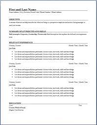 Construction Trades Management Resume Hospitality Resume Sample