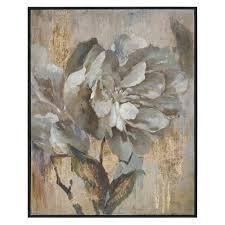 >uttermost framed wooden wall art bellacor uttermost dazzling by grace feyock 41 x 51 inch wall art