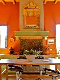 Orange Kitchens Mexican Decorating Ideas Inside 1 Pinterest Pottery Change