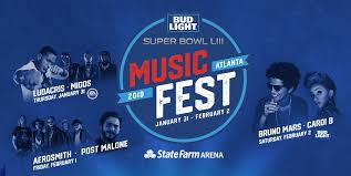 Bud Light Super Bowl Music Fest 2019 Lineup Bud Light Super Bowl Music Fest 2019
