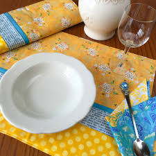 Quilted Placemat Patterns Magnificent Inspiration Ideas