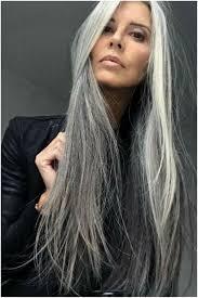Coupe Cheveux Femme 2019 Mi Long Cheveux Gris Les Coiffures