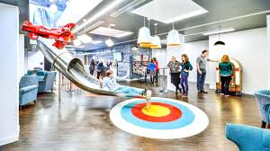 head office of google. Google Office Interior. Amsterdam Office. Slide Connecting Two Floors Head Interior Of I