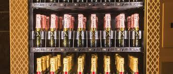 Champagne Vending Machine Extraordinary Champagne Vending Machine Grants Bubbly On The Go Vegas Seven