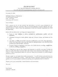 oil field supervisor cover letter sample superintendent cover letter