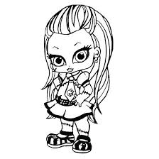 Baby Monster High Colouring Pages To Print Monster High Coloring