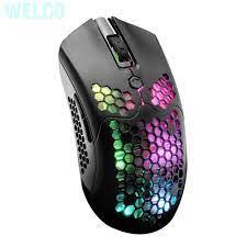 Chuột chơi game không dây chế độ kép 12000 DPI 7 nút có đèn RBG - Bàn phím  chơi game