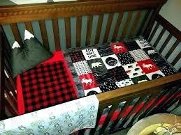 buffalo plaid baby boy clothes bedding splendid black check crib nursery red nur