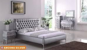 Amazing Silver Bedroom Furniture Photo Inspirations Col Mn 59 Toulouse  Collection For
