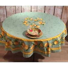 70 inch round tablecloth round tabcloth cotton green mon inches