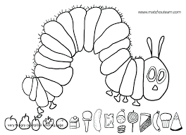 Caterpillar Butterfly Coloring Pages Cartoon Colouring Children