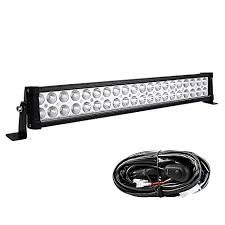 YITAMOTOR 24 Inch Light Bar Offroad Spot Flood Combo Led Waterproof Dual Row LED Work Amazon.com: