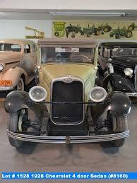 1928 Chevrolet 4 door Sedan (#8160)