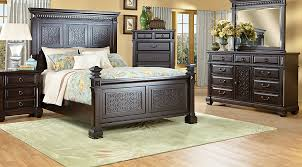 King Bed Rooms To Go Loden Gray 3 Pc King Upholstered Bed With 2 ...