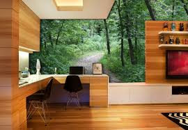 Feeling stressed out after a rough week at the office? Relocate your pad to  the tranquil wilderness to help you unwind.